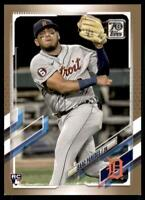 2021 Topps Series 1 Base Gold #65 Isaac Paredes RC /2021 - Detroit Tigers