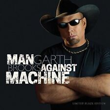 GARTH BROOKS - Man Against Machine - Limitado Negro Edición