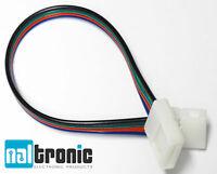 5x 10mm 4pin RGB Steckverbinder Schnellverbinder Adapter SMD LED Strip 5050 -155