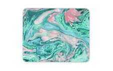 Turquoise Marble Mouse Mat Pad - Blue Stone Art Artist Cool Computer Gift #15884