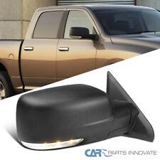Para 09-12 Dodge Ram 1500 potencia calor del lado del pasajero Espejo + Lámpara LED Señal + Charco