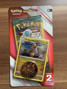 Pokemon Blister 2 Mini Booster Dragoran Dragonite USA Only Englisch Sealed OVP!