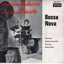 7inch CATERINA VALENTE & LUIZ BONFA bossa nova EP EX GERMAN DX 2273  (S1415)