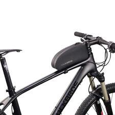 ROCKBROS MTB Road Bike Bag Waterproof Cycling Front Tube Frame Bag Black