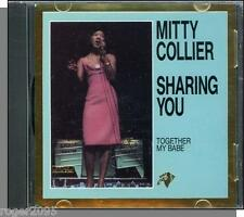 Mitty Collier - Sharing You - Ultra Rare 12 Song Soul Music CD! - New!
