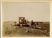 Algérie, Daïra d'El Abiodh Sidi Cheikh Vintage print. Tirage citrate  7