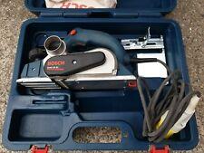 Bosch GHO 26-82 Planer, 110v Corded, wood work joiner carpenter tool, in case.
