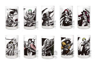 ONE PIECE Ichiban Kuji Swordman D Award glass 10 set zoro sanji law JAPAN