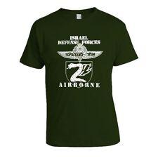 Força de defesa de Israel tzanhanim Pára-quedistas Airborne T-shirt