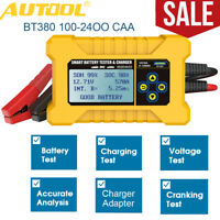 BT380 12V Car Battery Tester Cranking Charging Analyzer Battery Recharge Adapter