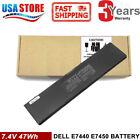 47WH 3RNFD Battery For Dell Latitude E7440 E7450 E7420 34GKR PFXCR 7.4V