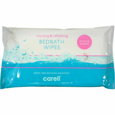 More details for carell bed bath alcohol paraben free aloe vera cleaning full body cleansing wipe