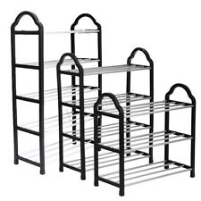 3/4/5 Tier Shoes Tower Rack Stand Space Saving Organiser Storage Shelves