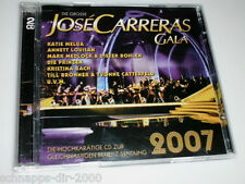 JOSE CARRERAS GALA 2007 / 2 CD'S MIT KATIE MELUA ANNETT LOUISAN MARSHALL & ALEXA