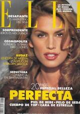 ELLE SPAIN 1993 CINDY CRAWFORD NIKI TAYLOR CHRISTY TURLINGTON LINDA EVANGELISTA