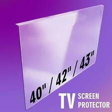 TV Screen Protector CLEAR 40 inch / 42 inch / 43 inch protection cover