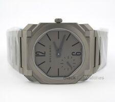 Bulgari Octo Finissimo Extra Thin Titanium 102713 BGO40C14TTXTAUTO Mens Watch