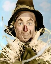"RAY BOLGER SCARECROW THE WIZARD OF OZ 1939 8X10"" HAND COLOR TINTED PHOTO"