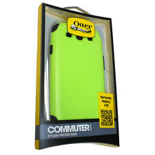 OEM Otterbox Samsung Galaxy S3 III Atomic Green Commuter Case w Screen Protector