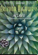 2001 Arizona Highways Magazine: Agave/Canoe Trips on Colorado/Polygamists