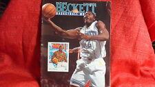 NBA Beckett Magazine Charlotte Hornets Larry Johnson March 1992