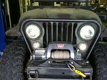 Jeep CJ5 CJ6 CJ7 CJ8 Scrambler Grill and Brush Guard Do-It-Yourself AMC