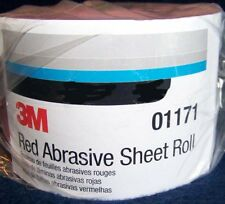 3M Red 1686 Stick It Adhesive Back Continuous Sheet Roll Sandpaper 150 Grit