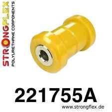 2 PU v.Buchsen unterer Querlenker HA Audi A6 C5 Quattro 4x4 StrongFlex 90ShAgelb