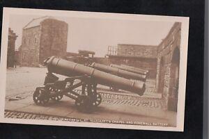 Edinburgh Castle St Margarets Chapel & Forewell Battery 1900's? Postcard CANON S
