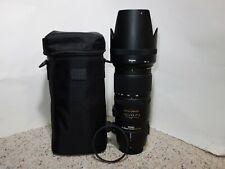 Sigma 70-200mm f/2.8 APO HSM EX DG OS Lens For Nikon W/ UV FILTER