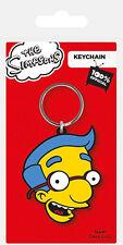 Simpsons Rubber Porte-clés Milhouse 6 cm Pyramid International Porte-clé