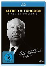 ALFRED HITCHCOCK 15 MOVIES COLLECTION 15 BLU-RAY NEU S.CONNERY/ANTHONY PERKINS/