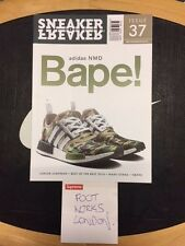 sneaker freaker issue 37 magazine  bape adidas nmd
