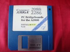 PC Bridge boards for the a2000 Amiga Commodore disquete