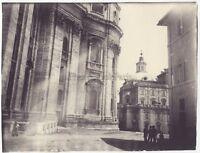 Roma Italia Foto Amateur Vintage Analogica Ca 1900