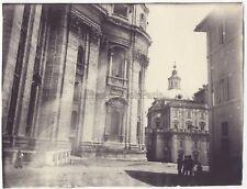 Rome Italie Photo amateur Vintage argentique ca 1900