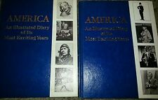 Set of 21 America: A Diary Of It's Most Exciting Years hardcover Books