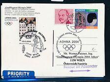 97792) AUA Olympiade So-LP Wien - Athen 13.8.2004, GA Schweiz