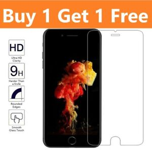 Screen Protector For iPhone 8 - 100% Genuine Tempered Glass