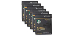 Starbucks Verismo Blonde Espresso Pods 72-Count BB JAN/2020