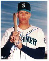 Alex Rodriguez Signed Autographed 8x10 Photo Seattle Mariners NY Yankees