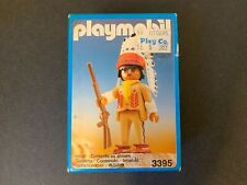 PLAYMOBIL Set: 3395 - Indian (Native American) Chief 1989 BRAND NEW in BOX