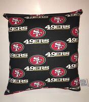 49ers Pillow NFL Pillow San Francisco 49ers Pillow Football Pillow HANDMADE USA