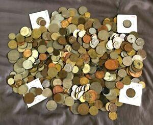 5lb pounds foreign / world bulk lot coins