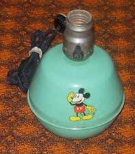 WALT DISNEY   MICKEY MOUSE  METAL LAMP  SORENG MANEGOLD  C. 1930'S  WORKS