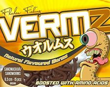 VERMZ. Superb Artificial Scented Soft Bait Worms For Sea Or Coarse Fishing