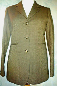Miss Cassidy  Pure New Wool Jacket And Trouser Suit Size 8