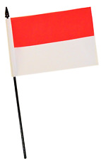 Indonesia Flag Choice of Polyester 5x3/' 3x2/' Hand Flag,Table Flag.Free P/&P