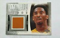 2001 UPPER DECK LEGENDARY KOBE BRYANT GAME-USED FLOOR CARD LOS ANGELES LAKERS SP