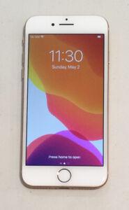 VERY CLEAN GOLD GSM UNLOCKED VERIZON APPLE iPhone 8, 64GB A1863 MQ742LL/A T95P
